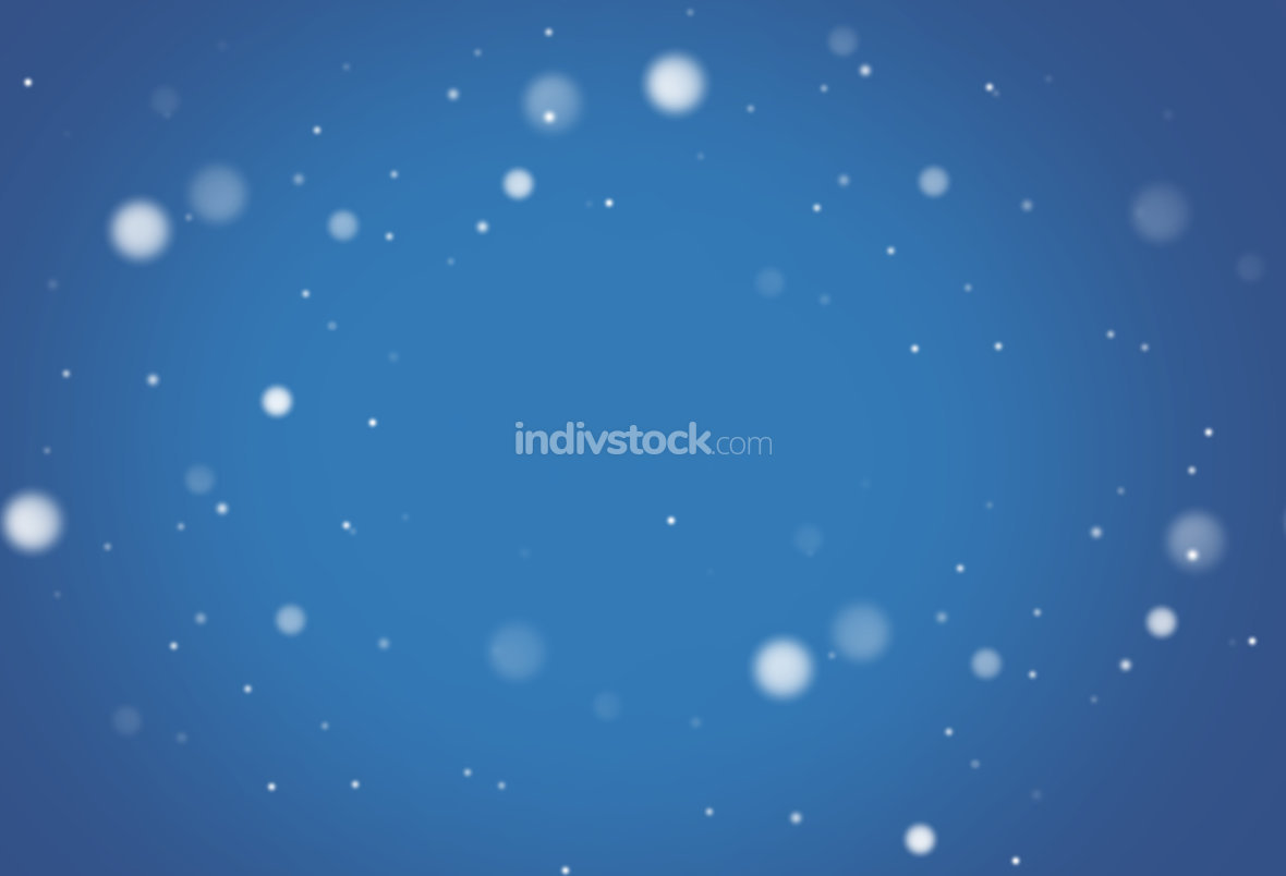 free download: snow strong blue background