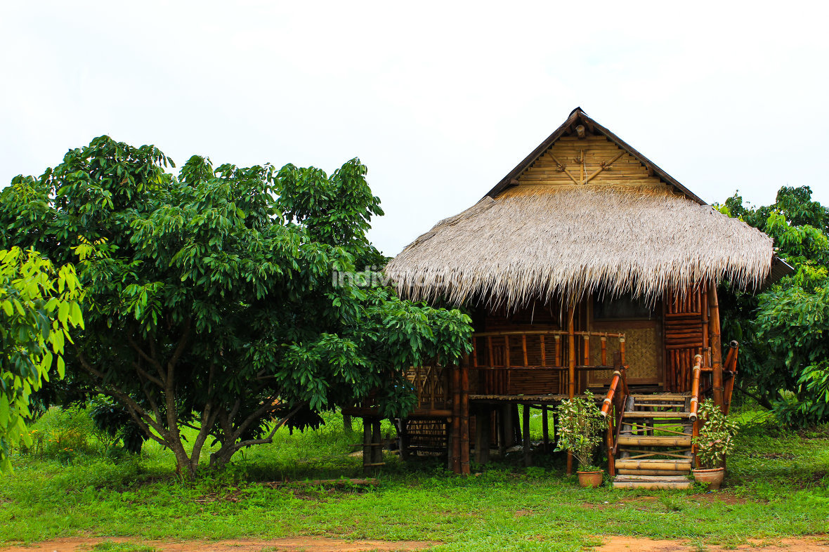 free download: Thai style wooden hut