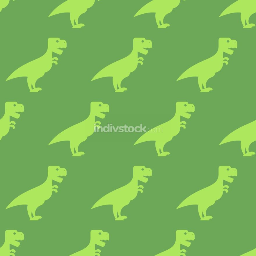 Dinosaur seamless pattern. Texture of  ancient animals of Jurass