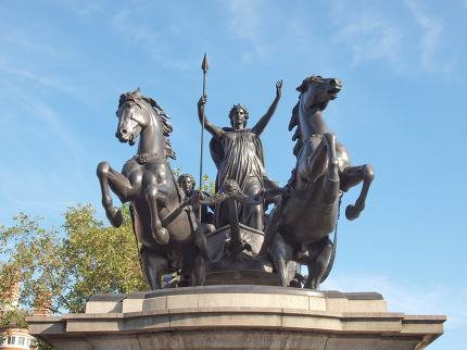 Boadicea monument London