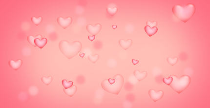 free download: pink red hearts background. Elements of this image furnished by NASA.
