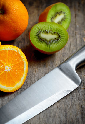 Kitchen stainless steel knife