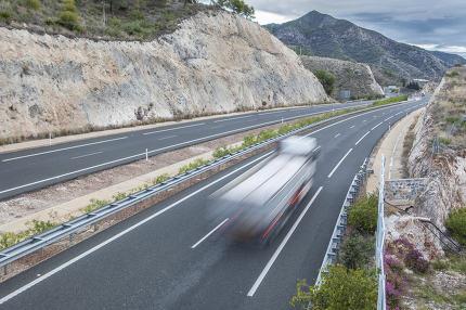 Movement of vehicles on freeway