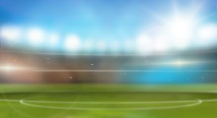 stadium sports soccer background 3d render