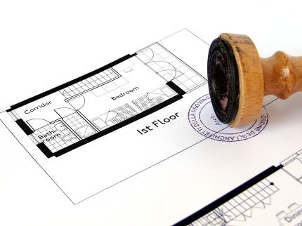 Technical architectural CAD drawing picture