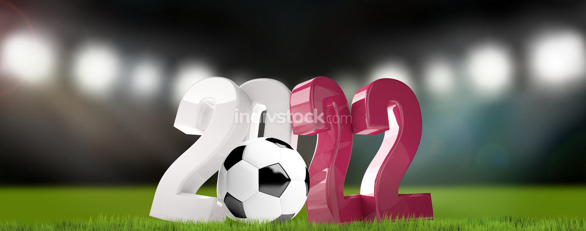 2022 ball football soccer 3d render