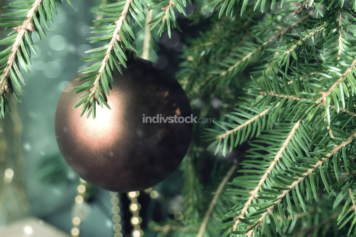 Christmas tree decoration for merry christmas