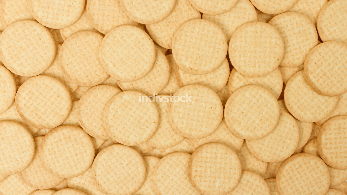 Close up delicious dutch biscuits
