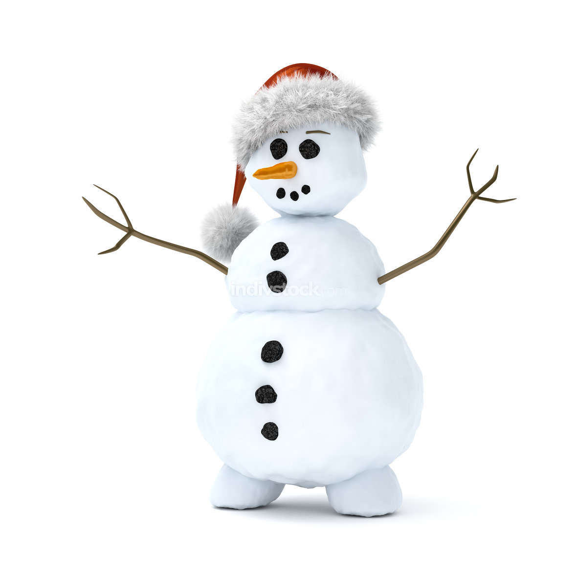 cute litte snowman