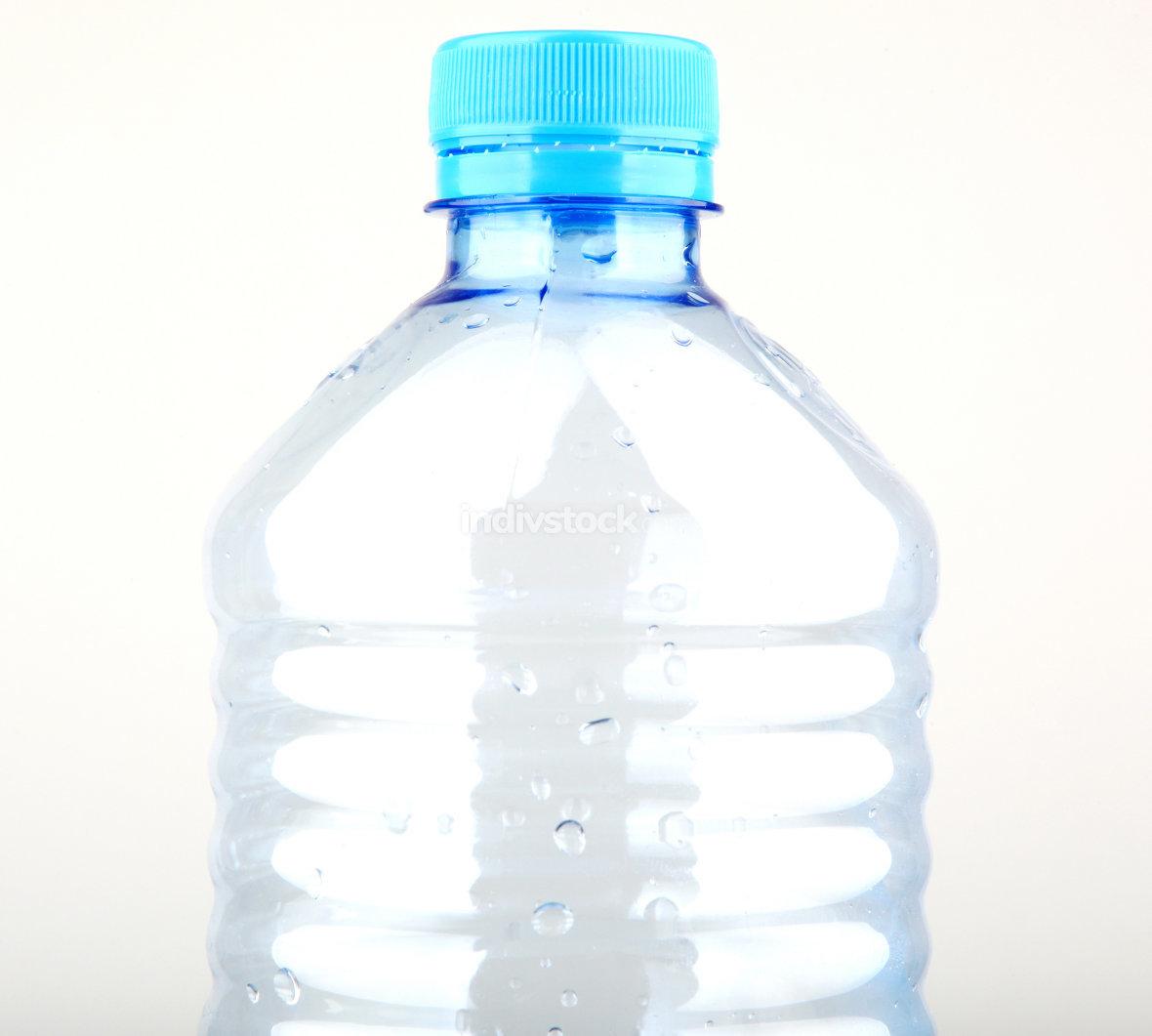 Empty plastic bottle.