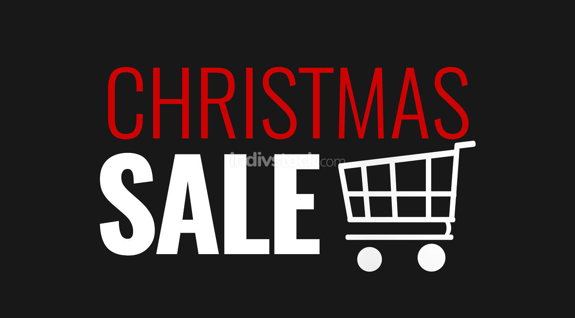 free download: christmas sale shopping cart