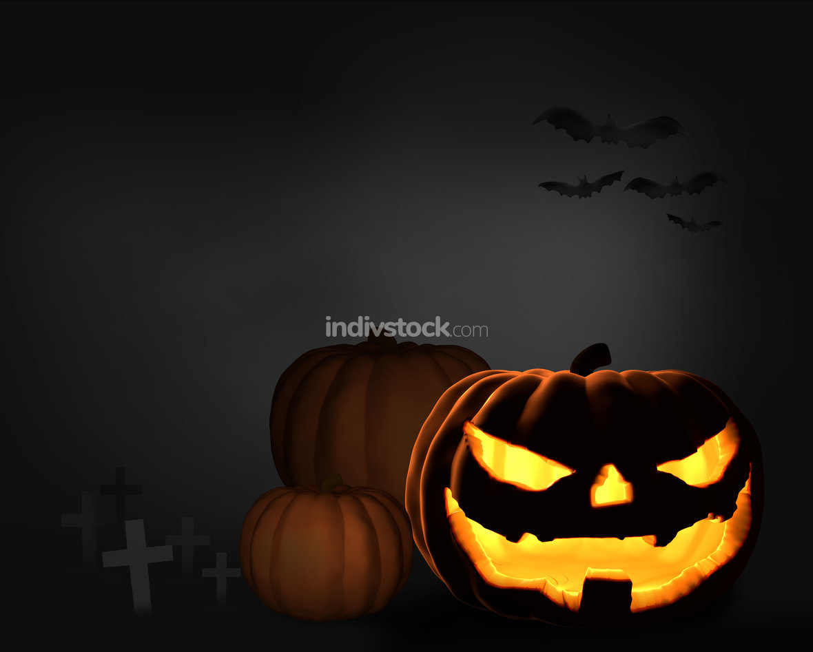 free download: halloween. pumpkin halloween 3d render
