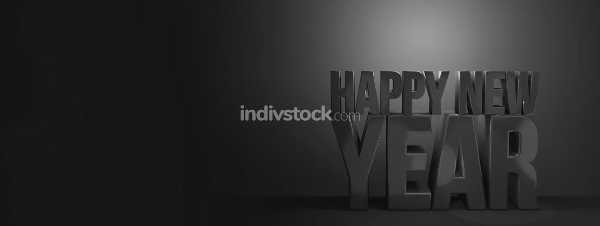 free download: happy new year. sylvester new years 3d render