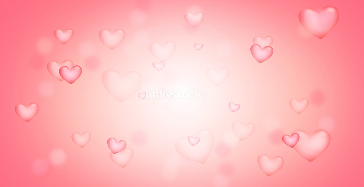 free download: hearts background