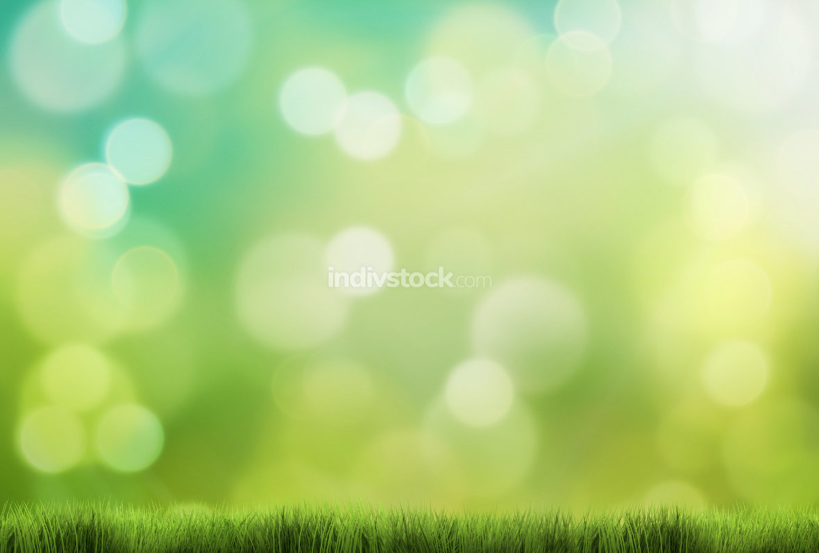 free download: spring background 3d render green grass