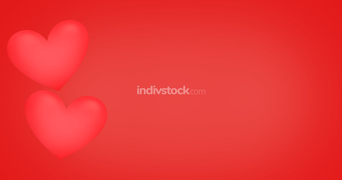 hearts red background. Elements of this image furnished by NASA.
