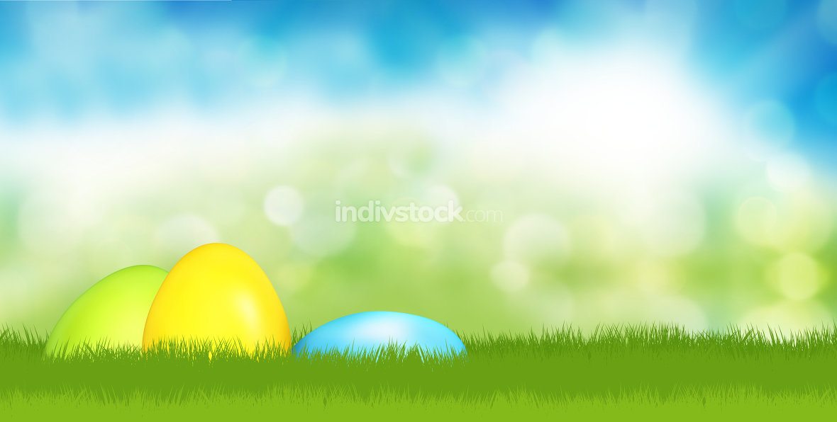 hidden easter eggs in garden 3d render