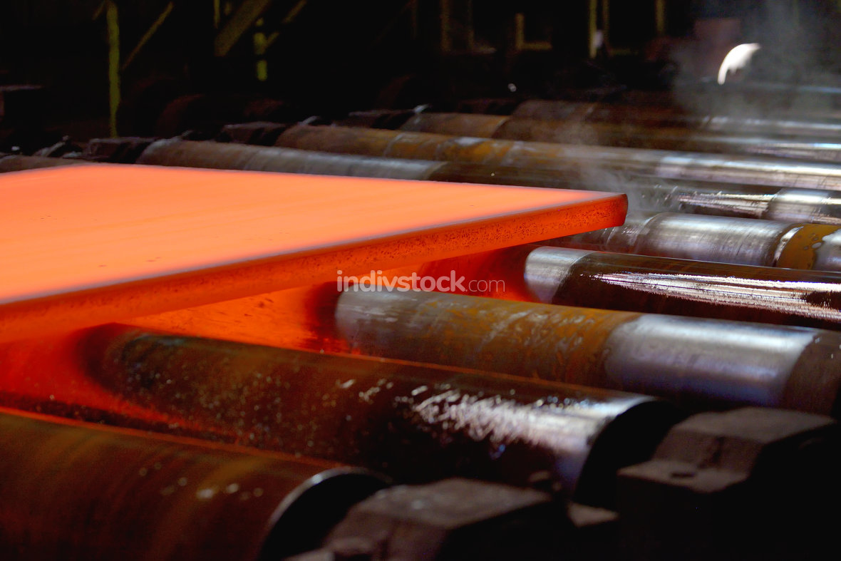 hot plate on conveyor