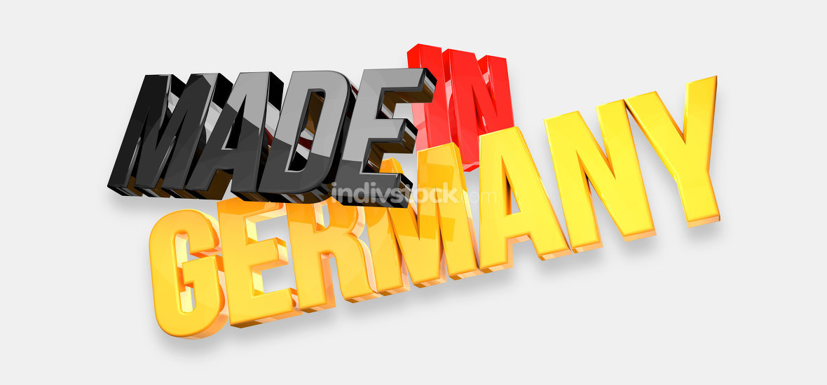 made in germany 3d render