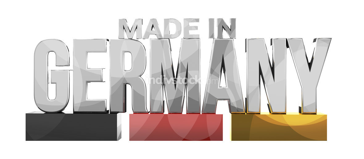 made in germany 3d rendering