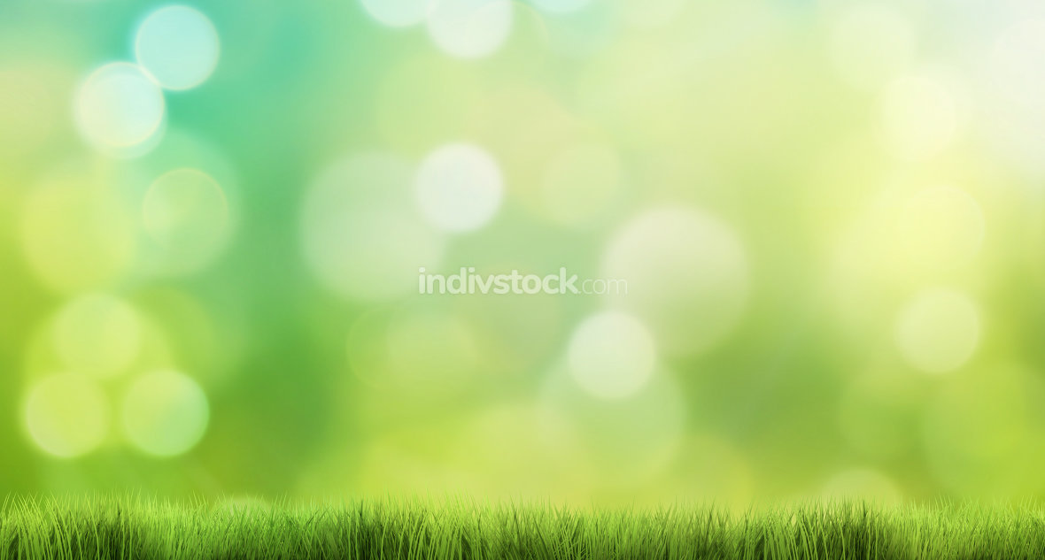 nature background 3d render grass