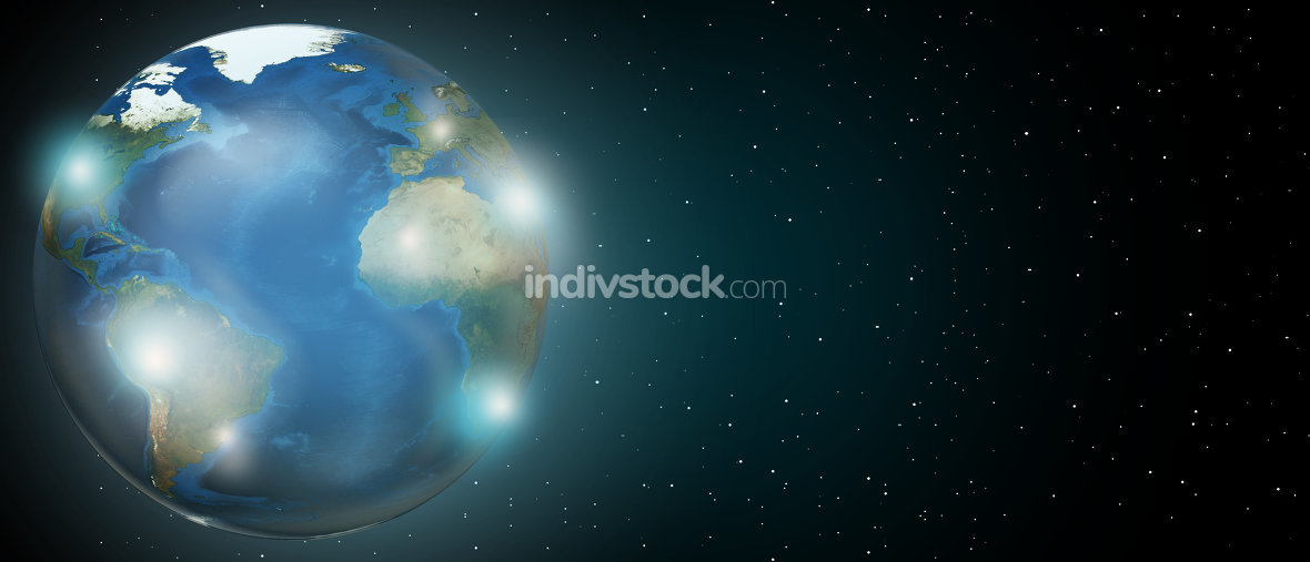 planet earth worldwide global. Elements of this image furnished by NASA.