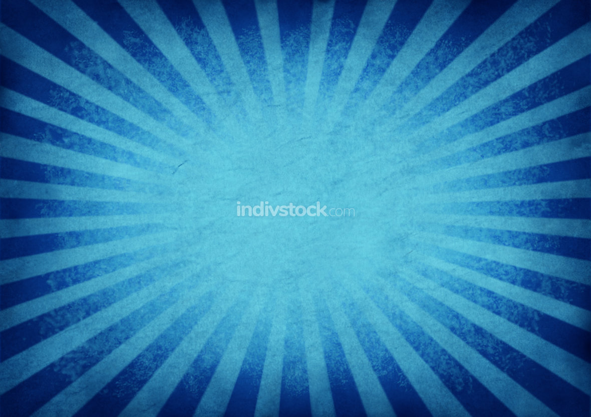 Retro Exploding Blue Background