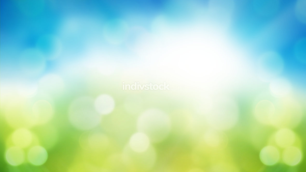 sky nature bokeh background