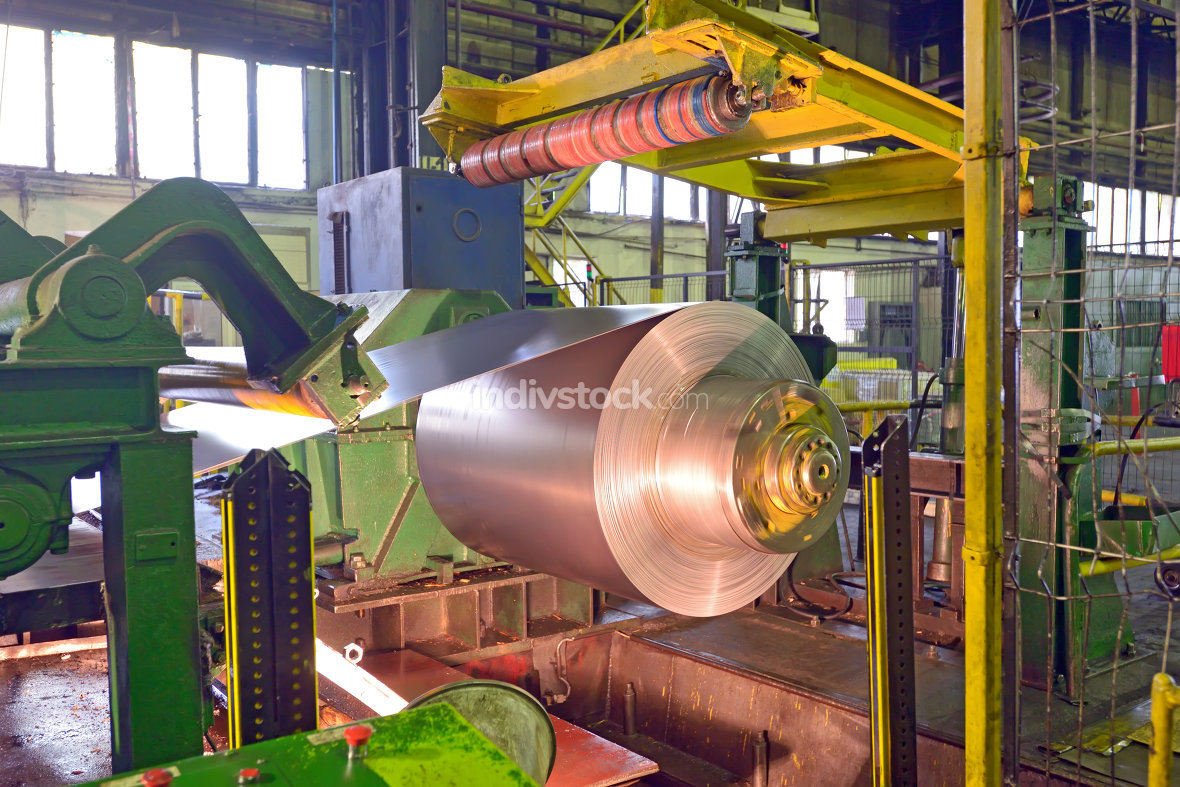 steel coil processing machine