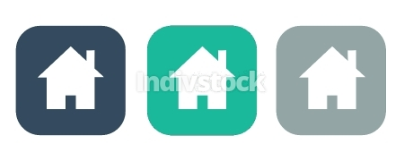 Home icon,Vector illustration