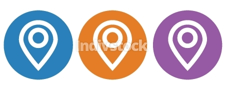Location icon,Vector illustration
