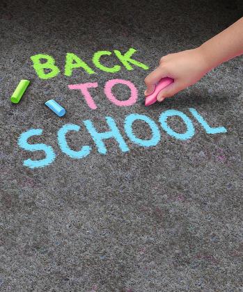 Back To School Sidewalk Chalk