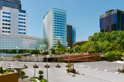 Business park in Madrid