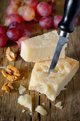 Chunk of parmesan cheese