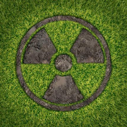 Contaminated soil