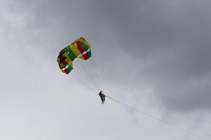 paragliding in patong phuket. Editorial at june 22 2017