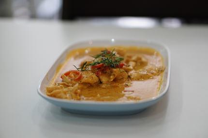 Phanaeng curry chicken