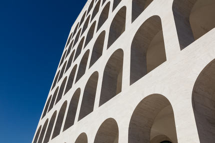 Squared Colosseum,Rome