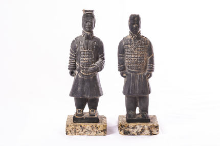 Two soldiers of Terracotta Army