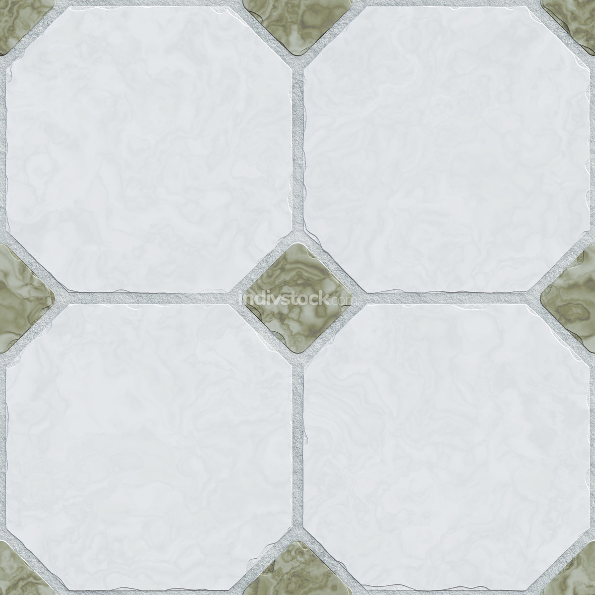 2d illustration typical tiles background seamless