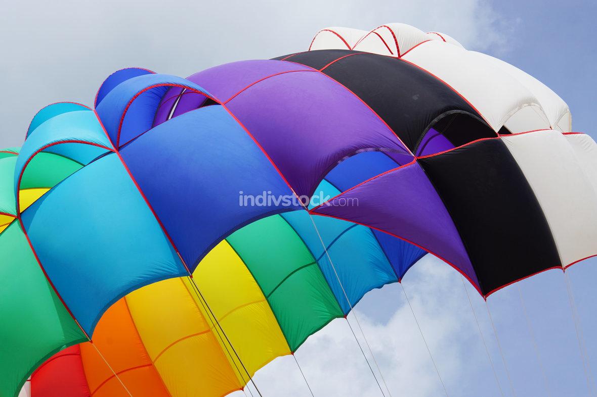 beach activities paragliding