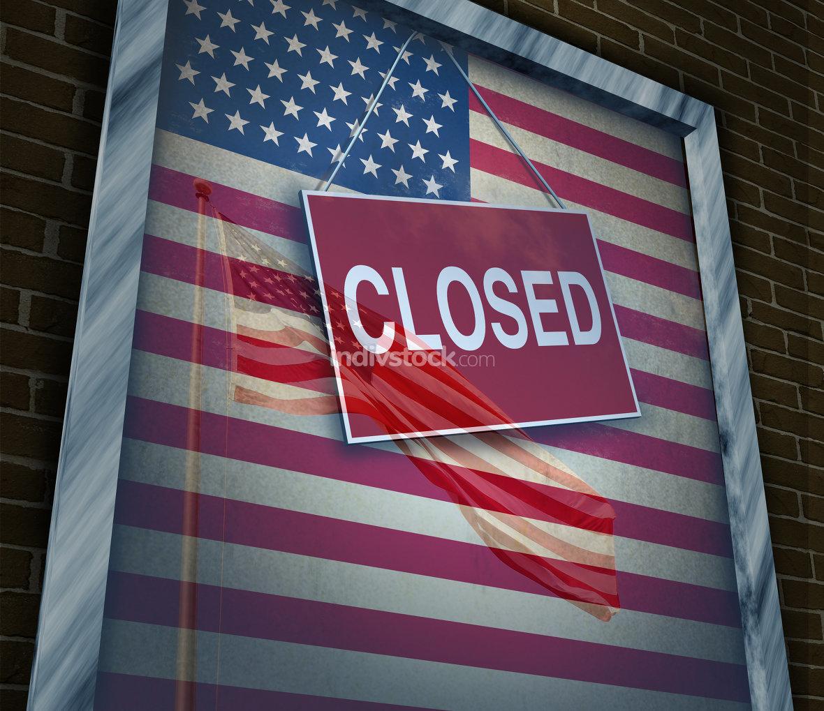 Closed United States