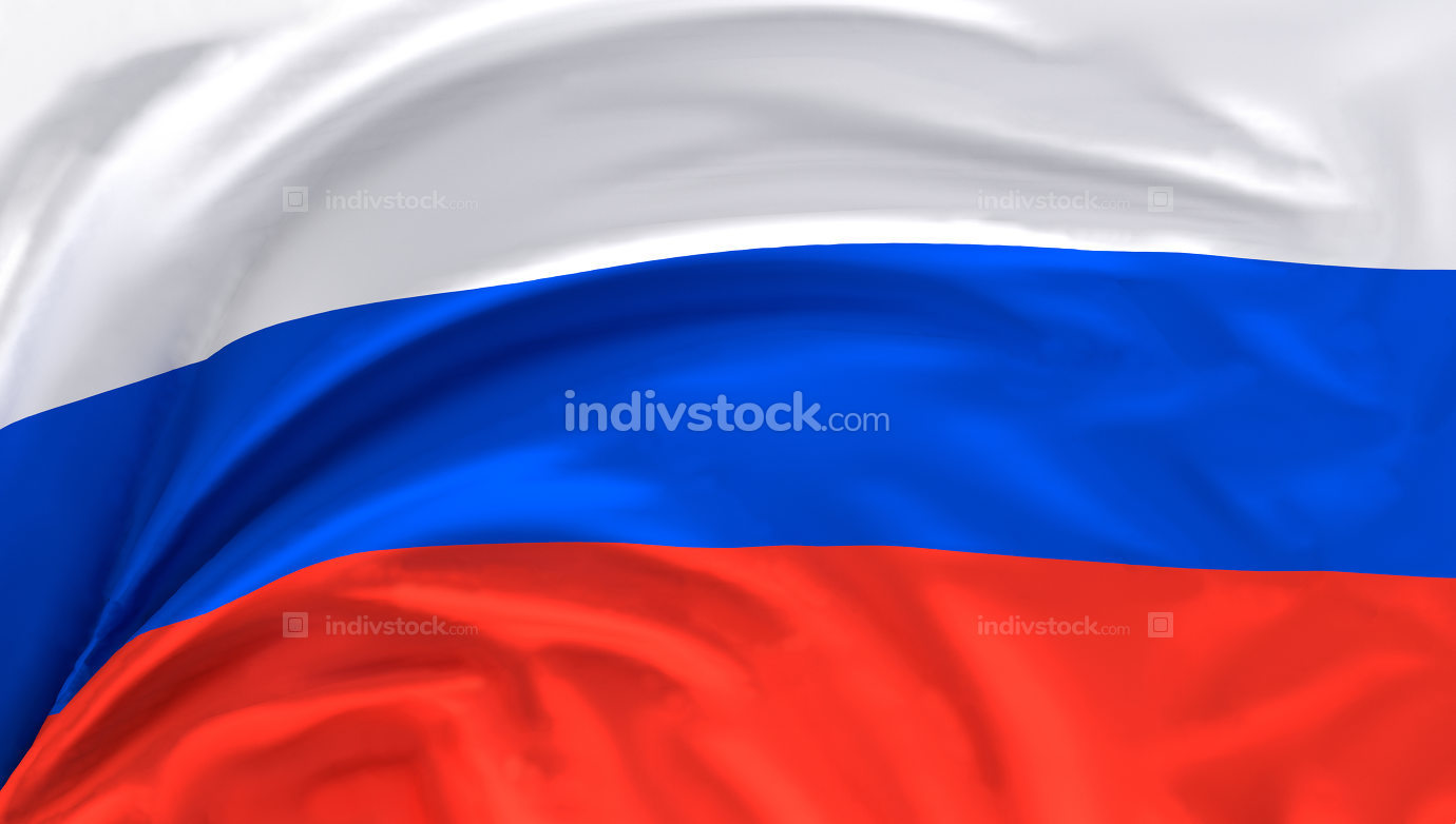 free download: flag of Russia 3d rendering background