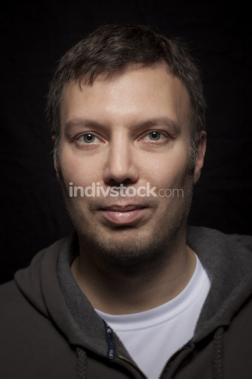 handsome male caucasian portrait