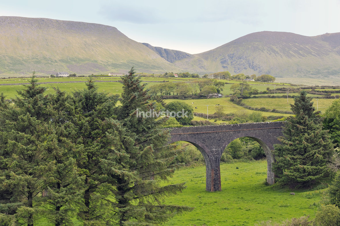 Ireland countryside view