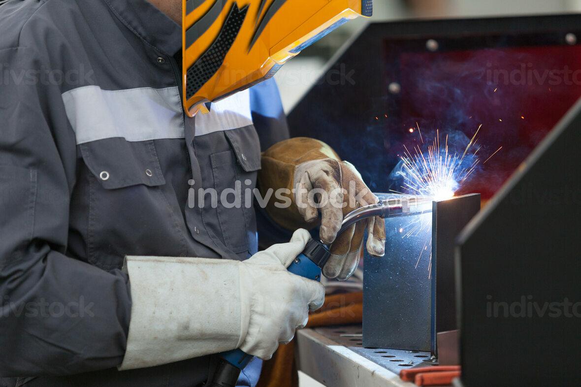 Manual metal welding