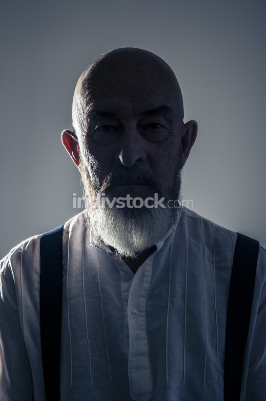 old man portrait