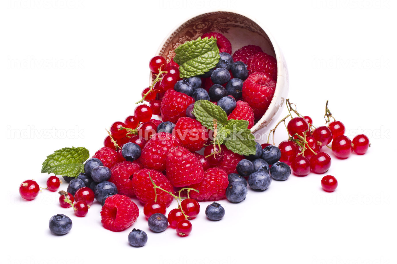 tasty mix of berries
