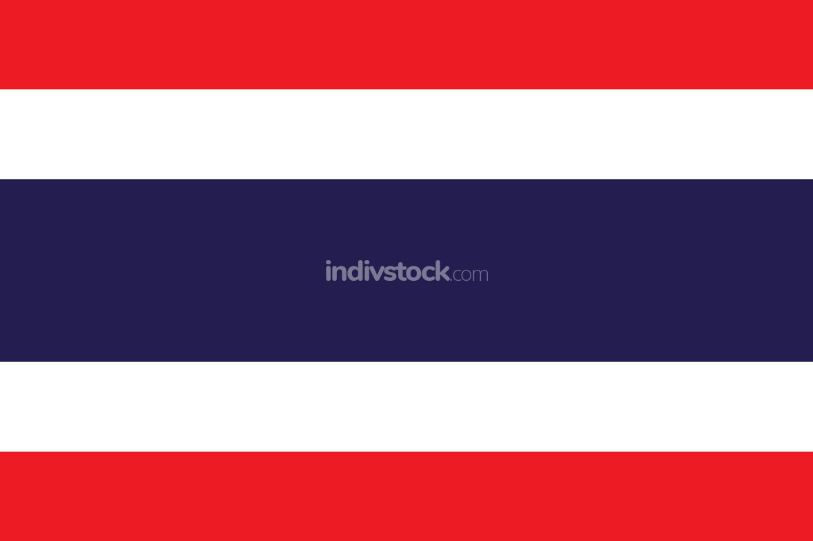 thai thailand flag