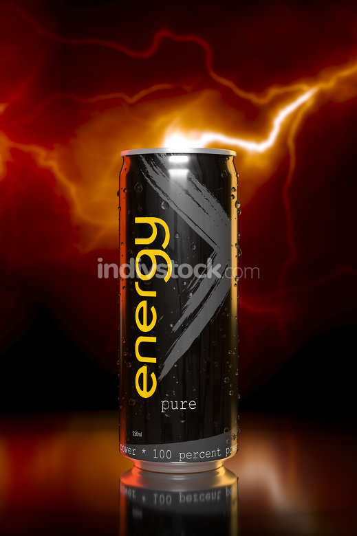 typical energy drink